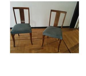 Vendo dos sillas de roble, usadas, excelente estado