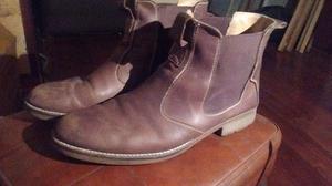 Zapatos Borcegos hombre talle 46 cuero