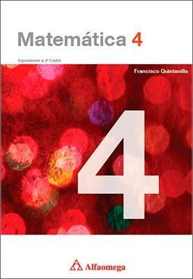 Pack De Libros Matemática 4, 5 Y 6 De Quintanilla