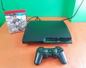 Playstation 3 Slim 160gb + 1 Joystick + 1 Juego Completa