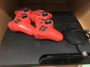 Playstation  Gb + 2 Controles