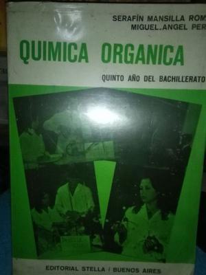 Química Orgánica - Mansilla Romo, Peré Edit. Stella