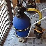 Bomba para pileta Elektrim autocebante c/ filtro, carro