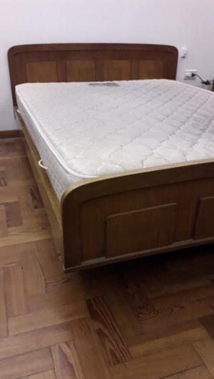 Cama y colchón 2 plazas