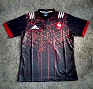 Camiseta De Rugby Francia adidas Titular  Nueva