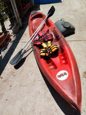 Kayak Triplo de Atlantikayaks para 1, 2 ó 3 personas usado.
