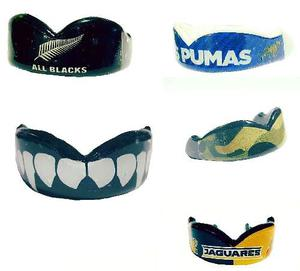 Protector Bucal Rugby All Blacks, Pumas, Colmillos, Etc