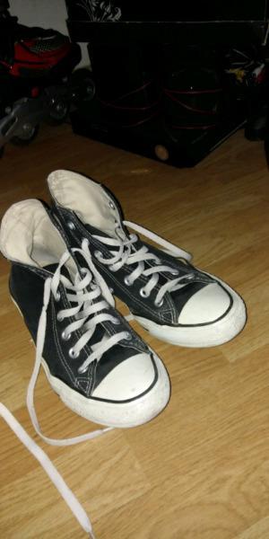 Zapatillas converse negras originales 300$n 37