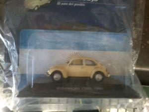 wolswagen escarabajo de la coleccion autos inolvidables