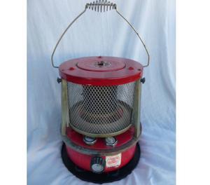 Antiguo calentador a kerosene