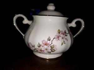 Azucarera de semi porcelana Sajonia