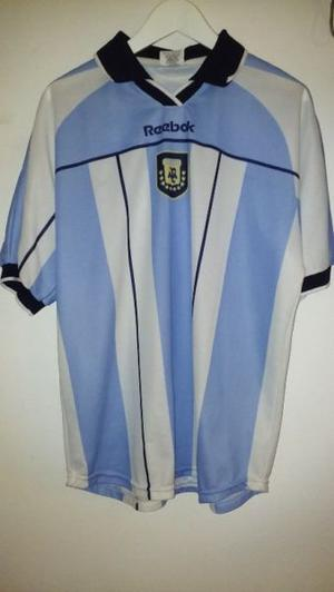 Camiseta original reebok de la selección argentina 4a7dd1db7fe