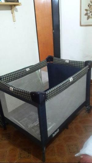 Corralito y colchón de cuna