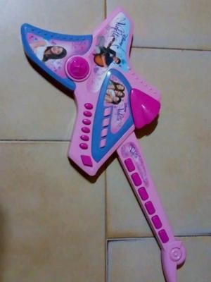 Guitarra De Violetta Tipo Rockera Casi Sin Uso