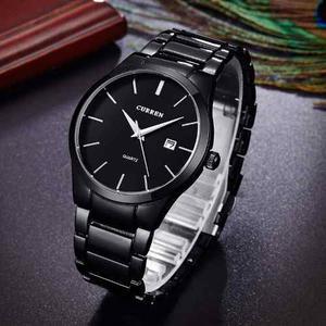 Reloj Acero Inoxidable Fashion Curren Original Con Fecha