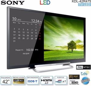 Tv Led Sony Bravia 42 - Full Hd x Impecable