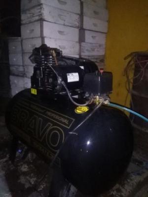 compresor shultz 180 litros casi nuevo