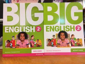 Big English 2 - Pupils Book & Activity Book - Pearson