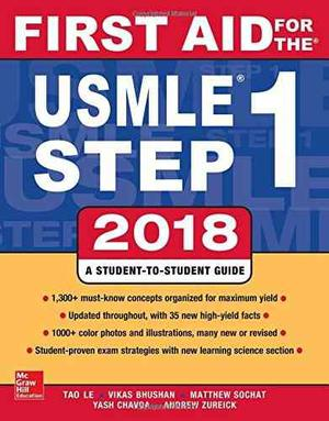 Book: First Aid For The Usmle Step th Edition