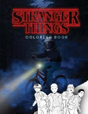 Book: Stranger Things: Coloring Book, Activity Book For..