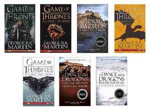 Game Of Thrones (Pack De 7 Libros En Ingles)
