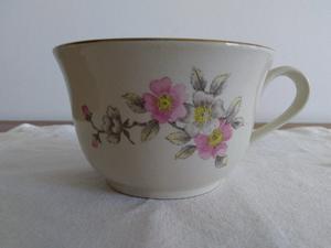 Juego de tazas de té o café con platos de porcelana