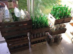Lote de botellas antiguas