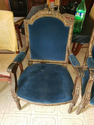 Vendo sillones antiguos Luis xv