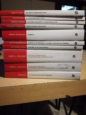 10 Libros de la coleccion Terror Diario la Nacion
