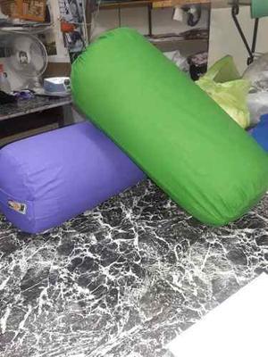 5 Bolsters De 65 X 25 Cm