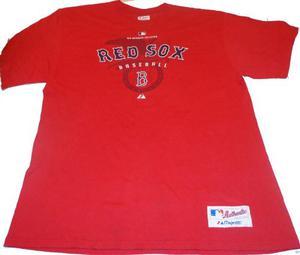 Baseball Beisbol Remera Majestic Boston Red Sox Mlb American