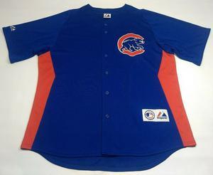 Casaca De Baseball De Chicago Cubs Mlb Majestic Talle Xl