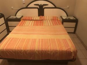 Juego de dormitorio con colchón