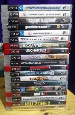 Juegos PS3 // Originales en caja.