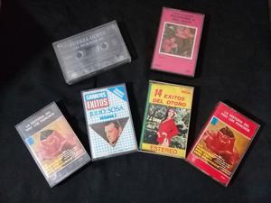 Lote Cassettes Originales, trio los panchos julio sosa y