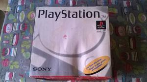 Play Station 1 con Caja, manuales y mas de 30 juegos.