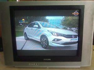 Tv Philips 21PT pantalla plana [usados en La Plata]