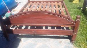 Vendo cama tallada 2 plazas posot class for Vendo sofa cama 2 plazas