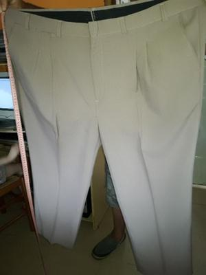 set de tres pantalones de vestir de hombre