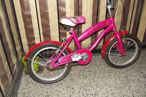 Bicicleta para niña con motivos de la barbie tel