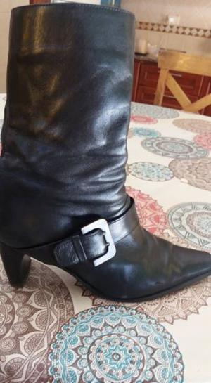 Botas de mujer, cuero,numero 38