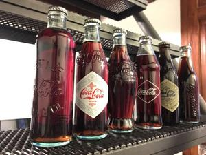Colección botellas Coca-Cola