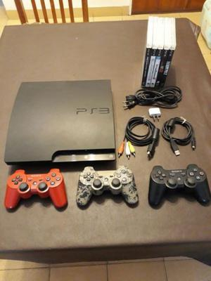 Play Station 3 Slim 320 gb usada EXCELENTE estado