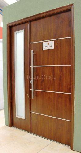 Aberturas portada doble oblak grafito c 2 posot class for Fabrica de ventanas de madera en buenos aires