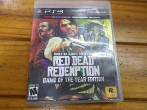 RED DEAD REDEMPTION GAME OF THE YEAR EDITION PS3 USADO