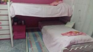 cucheta en L con cama marinera