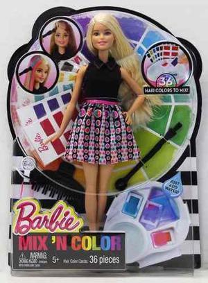 Barbie Estudio De Colores Super Teintures - Original Mattel