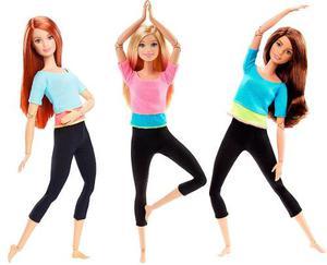 Barbie Made To Move Yoga Original Mattel Articulada