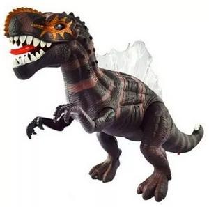 Dinosaurio Espinosaurio 40 Cm, Camina, Hace Luces Y Ruge!