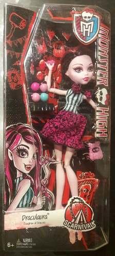 Draculaura Monster High Muñeca Ghouls 25cm Original Mattel